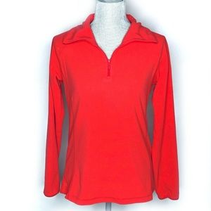 Columbia Jacket Sweater Pullover Quarter Zip Small